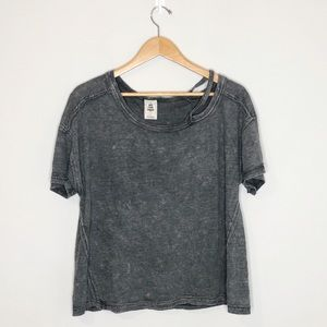 Free People distressed t shirt